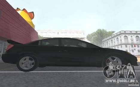 Saturn Ion Quad Coupe für GTA San Andreas Innen