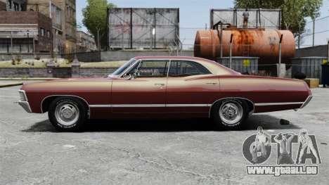 Chevrolet Impala 1967 pour GTA 4 est une gauche