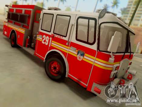E-One FDNY Ladder 291 pour GTA San Andreas