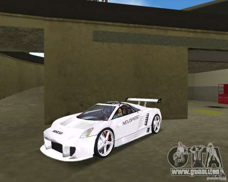 Cadillac Cien Shark Dream TUNING pour GTA Vice City