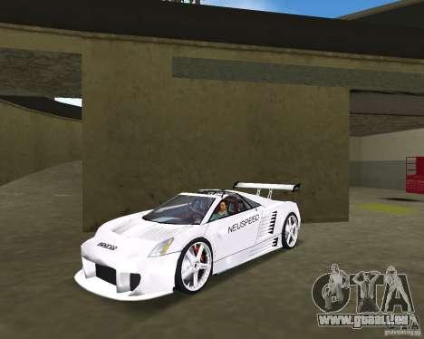 Cadillac Cien Shark Dream TUNING pour GTA Vice City