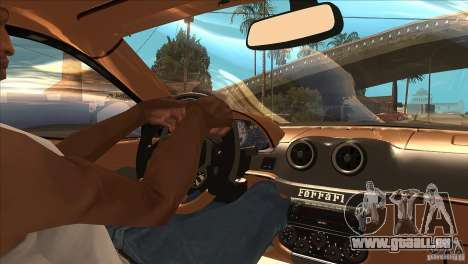 Ferrari 599 GTO 2010 V1.0 pour GTA San Andreas vue de côté
