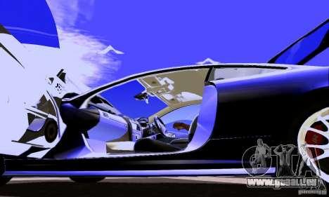 Jaguar XKRS für GTA San Andreas Seitenansicht