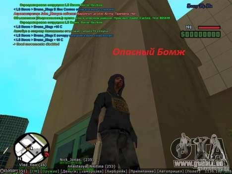 m0d S0beit 4.3.0.0 Full rus für GTA San Andreas dritten Screenshot