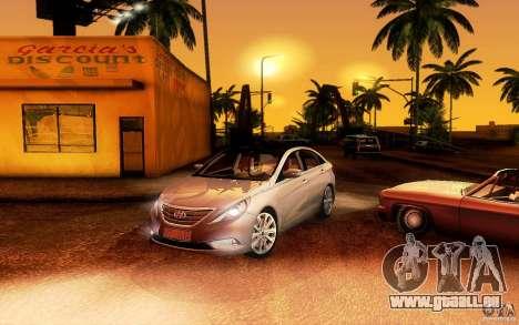 Hyundai Sonata 2011 pour GTA San Andreas laissé vue