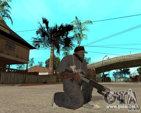 M1049 pour GTA San Andreas troisième écran