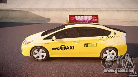Toyota Prius NYC Taxi 2011 pour GTA 4 est une gauche