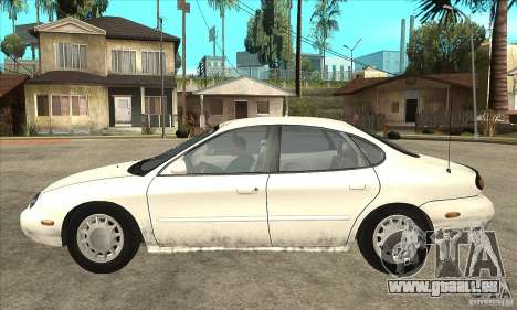 Ford Taurus 1996 pour GTA San Andreas laissé vue