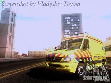 Mercedes-Benz Sprinter Ambulance pour GTA San Andreas