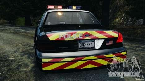 Ford Crown Victoria Police Interceptor 2003 LCPD für GTA 4 Unteransicht