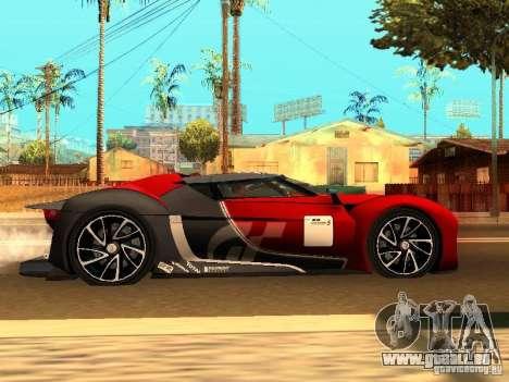 Citroen GT Gran Turismo für GTA San Andreas rechten Ansicht
