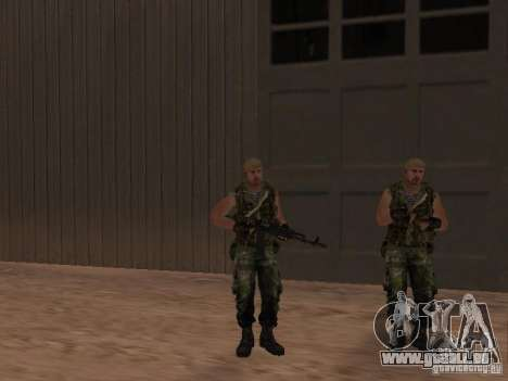 Russische Commando für GTA San Andreas sechsten Screenshot