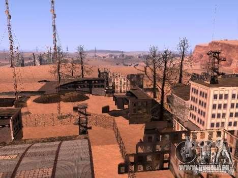 Tchernobyl MOD v1 pour GTA San Andreas cinquième écran