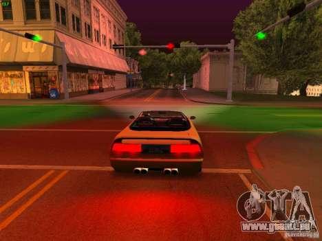 Infernus Revolution pour GTA San Andreas vue de côté