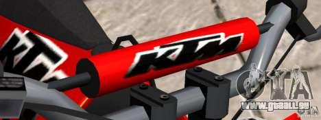 KTM EXC 450 für GTA 4 rechte Ansicht
