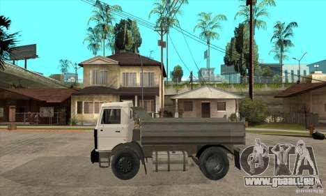 5551 MAZ LKW für GTA San Andreas linke Ansicht