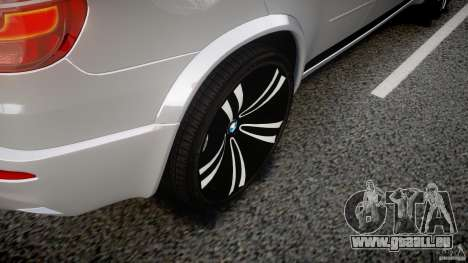 BMW X5M Chrome für GTA 4 Räder