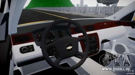Chevrolet Impala 9C1 2012 für GTA 4 rechte Ansicht