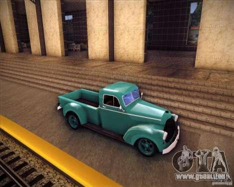 Shubert pickup pour GTA San Andreas laissé vue