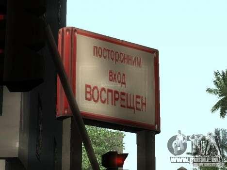 Die Russische Botschaft in San Andreas für GTA San Andreas zweiten Screenshot