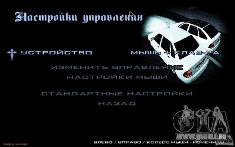 Le menu de la Nogaystan jeu de GTA pour GTA San Andreas cinquième écran