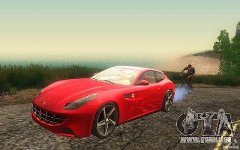 Ferrari FF pour GTA San Andreas vue intérieure
