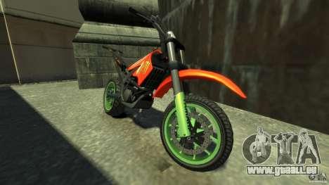 Stunt Supermotard Sanchez für GTA 4 linke Ansicht