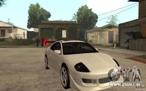 Mitsubishi Eclipse 2003 V1.5 pour GTA San Andreas vue arrière