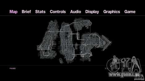 VC Style Radar/HUD (1 de la peau) pour GTA 4 troisième écran