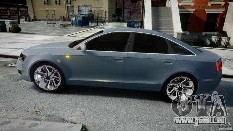 Audi A6 TDI 3.0 für GTA 4 linke Ansicht