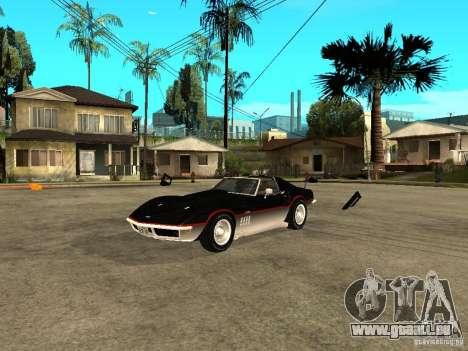 Chevrolet Corvette 1968 Stingray für GTA San Andreas