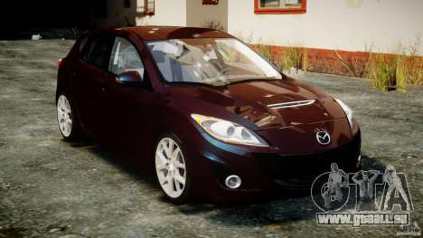 Mazda Speed 3 [Beta] für GTA 4 Rückansicht