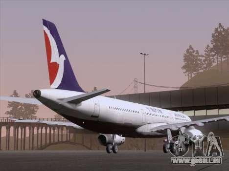 Airbus A321 Air Macau für GTA San Andreas rechten Ansicht