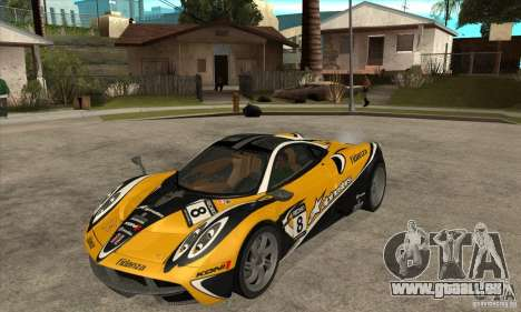 Pagani Huayra ver. 1.1 pour GTA San Andreas