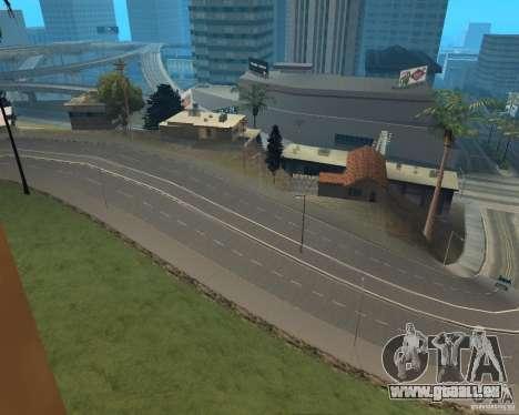 Construction de nouvelles routes en Vinewoode (L pour GTA San Andreas