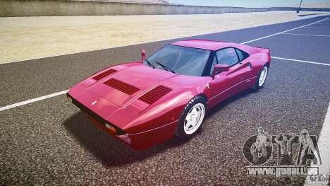 Ferrari 288 GTO für GTA 4 Rückansicht