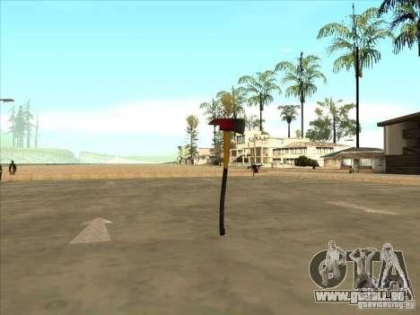 Eine Axt von Killing Floor für GTA San Andreas