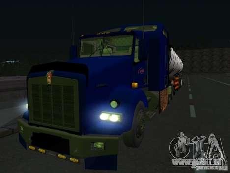 Kenwort T800 Carlile für GTA San Andreas linke Ansicht