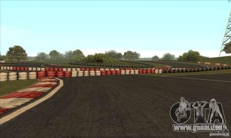 Piste GOKART Route 2 pour GTA San Andreas neuvième écran