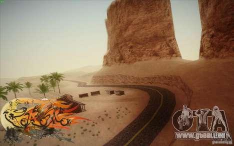 New Roads Las Venturas v1.0 pour GTA San Andreas deuxième écran