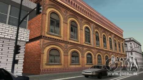Structure des garages et bâtiments en fo pour GTA San Andreas cinquième écran