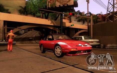 Nissan 180SX Kouki für GTA San Andreas Seitenansicht