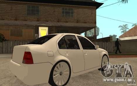 Volkswagen Bora PepeUz Edition für GTA San Andreas rechten Ansicht
