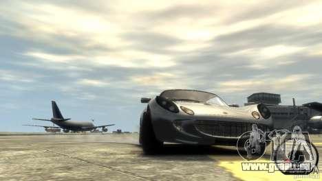 Lotus Elise v2.0 pour GTA 4 est un côté