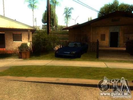 New Car in Grove Street für GTA San Andreas dritten Screenshot