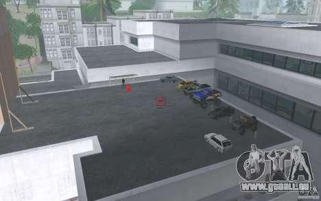 Cars shop in San-Fierro beta pour GTA San Andreas quatrième écran