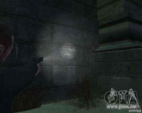 Flashlight for Weapons v 2.0 pour GTA 4