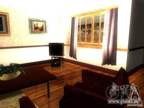 CJ maison nouvelle pour GTA San Andreas quatrième écran