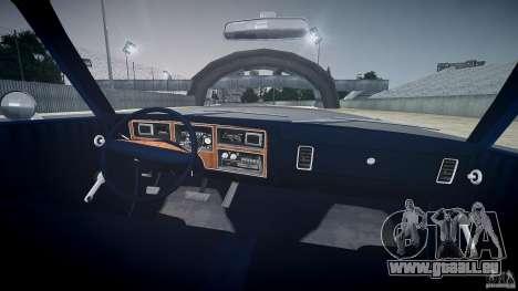 Dodge Aspen v1.1 1979 pour GTA 4 vue de dessus