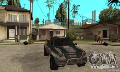 Nevada from FlatOut 2 pour GTA San Andreas vue arrière